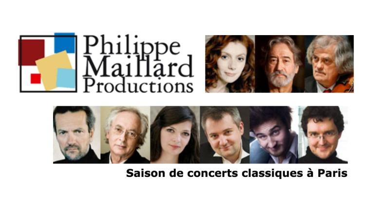 LES CONCERTS PARISIENS – Philippe Maillard