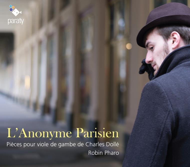 Couverture de L'Anonyme Parisien, pi  èces de viole de Charles Dollé.jpg